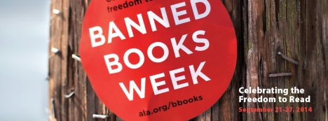 Harry Potter… Captain Underpants… Catcher in the Rye…Every year, there are hundreds of attempts to remove books from the shelves of bookstores, libraries and schools. Don't close the book on your freedom to read by reading your favorite banned book during Banned Books Week, September 21 to 27. Visit your local library for more information, or visit http://bannedbooksweek.org/