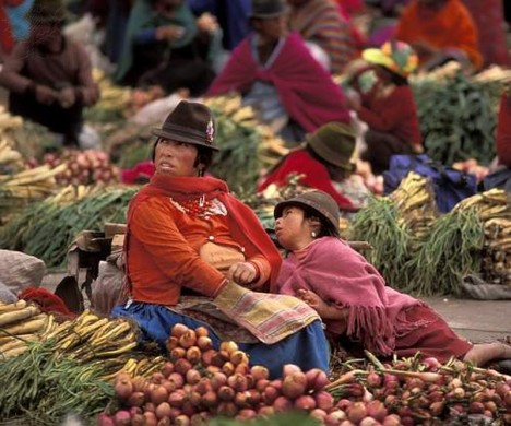 Market Day in the Andean village of Pujili. Photography. Encyclopædia Britannica ImageQuest. Web. 5 Apr 2015. http://quest.eb.com/search/139_1951667/1/139_1951667/cite
